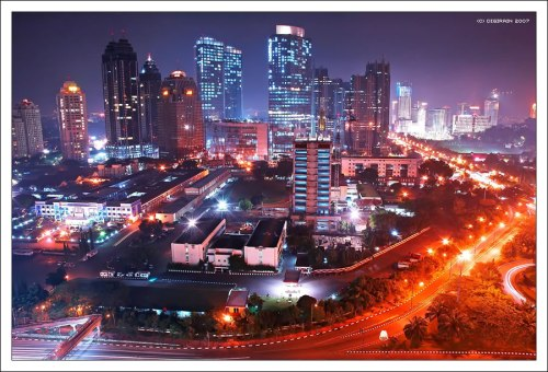 Jakarta the capital city
